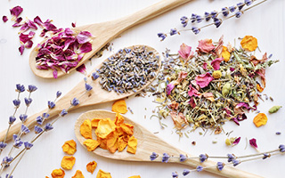 Produkte der Marke Tee & Blüten