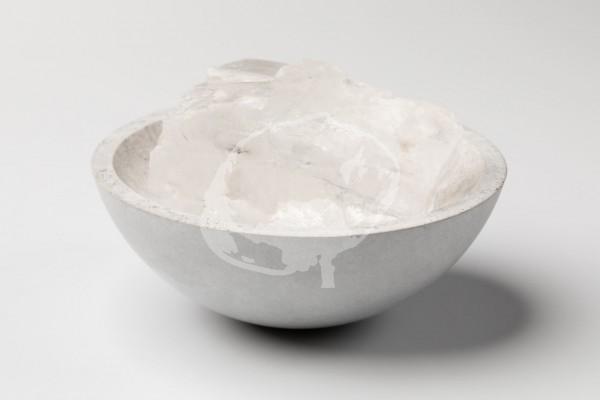 Kubisches Halit Salz Brocken auch Diamantsalz genannt