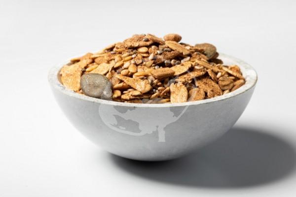 Bio Samen Zimt Müsli - Frühstück Saaten Müsli